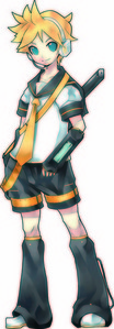 Yes, which is why I plan to cosplay as THIS GUY: Len Kagamine :D