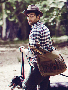Douglas wearing a hat<3