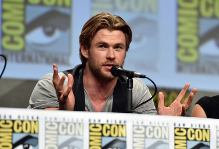 Chris in my hometown(San Diego) for Comic Con<3