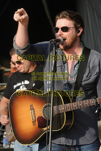 Chris Young performing in the sun. (Not sure if this counts, though. :P)