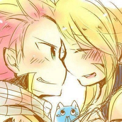 Why nobody said them? They are the cutest couple ever!! Natsu x Lucy Fairy tail