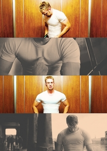 Chris Evans in a tight shirt<3