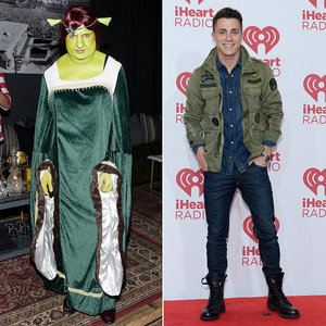 Colton in a Fiona costume<3