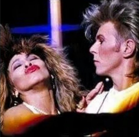 Dave with Tina Turner <3