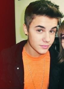 Bieber in orange<3