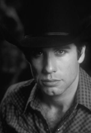 John wearing a hat :)