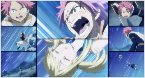 I read through most of the answer some was good answer some were okay,but my opinion is that Natsu doesn't really know how he feels,I cant say that he straight up like her because he have moments when getting angry over other people that hurt and cry,but with Lucy it is more let's say like he runs a muck.when natsu sees Lucy cry or hurt or even sad.he wants to be their and comfort her protecting her.at the very first really save, not counting the first ep.because he pretty much didn't know she was on the boat, but when phantom lord took Lucy he was angry at the level when ERZA was sacrificing her self,and that was pretty angry.but later on when they was taken to the other world,and captured Lucy,natsu,Wendy ,happy,and Charle ,when he asked about were Lucy and they said they will kill her he went ravage,even with out power he made threates to kill them, pretty much.lets not forget when before they where caught they were listening to that kings speech and he hit the lacrime and a piece fell off,Lucy was the one that calmed him,and when future Lucy died and he told rogue he burn his destiny to ashes and no one will still Lucy future.yep he went savaged and after the fight he cried over future Lucy body,he was still worried about her even though he probably was hurt and knew that she was gone.to all that say natsu doesn't know what love is, he actually do, he knows what it looks like and how it is.he probably doesn't understand his feels because there mixed up with Lucy as being a friend for now but that will change and I hope soon.