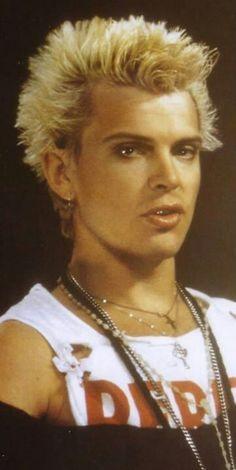 Billy Idol, I really like him alot *_*