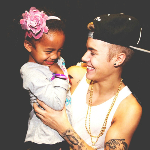 Justin and fan!