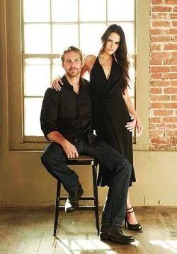 Paul and his F&F co-star,Jordana Brewster<3