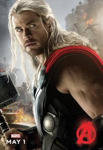 my Aussie babe,Chris Hemsworth as Thor,Avengers 2 Age of Ultron<3