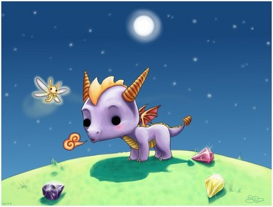 Spyro :D (mostly the first 3 games)