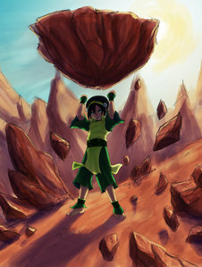 Toph has madami skill and control. Terra has a little bit madami raw power. I'd give this to Toph, although Terra would give her a run for her money.