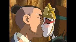 Sokka and Suki from Avatar: The Last Airbender