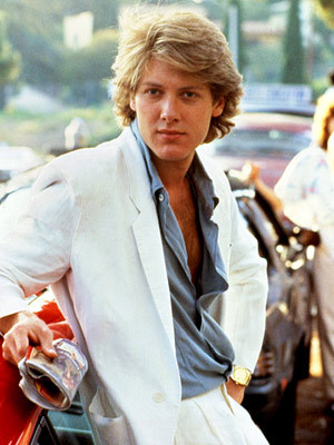 James Spader with soft hair<3