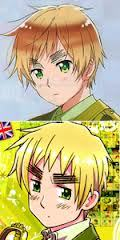 Hetalia. Despite the fact that they change the art styles, I still think both are amazing and fit the comedic anime. Here's a pic comparing the two styles for the character England/Britain(depending on the dub) The lower one is the older style.
