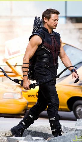 Jeremy as Hawkeye *_*