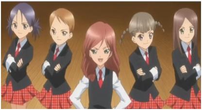 Other than Saaya, there are four members of the Tadase प्रशंसक Club. Their names are Mika, Yaya, Haruka, and Ayaka. Source: http://shugochara.wikia.com/wiki/Tadase_Fan_Club