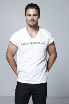 sexy Stephen in white<3