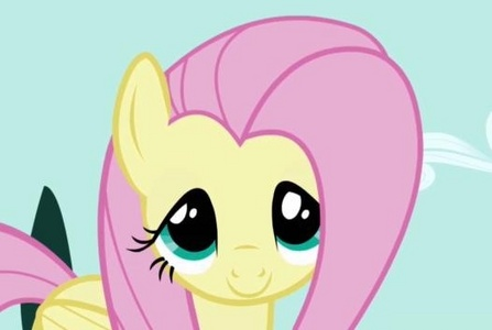 Fluttershy. Both of us tend to be very shy, and we both have a l'amour for animals.