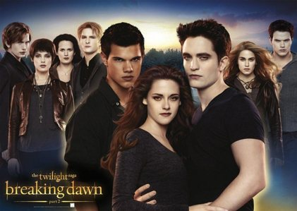 almost anything related to Twilight Saga(more specifically Edward and Bella clubs),including the 2 actors that play Edward and Bella.I still am obsessed with those clubs,and anything Twilight related.