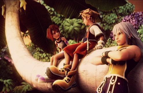 Kingdom Hearts. Good times. XD