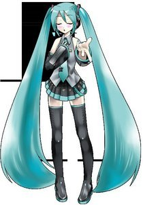 Hatsune Miku and vocaloid in general.