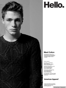 Colton wearing a jumper<3