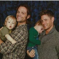 Jensen and Jared proud,sexy dads<3