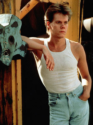 Kevin bacon in a white tank juu