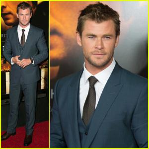 Chris is one sharp dressed Aussie babe<3
