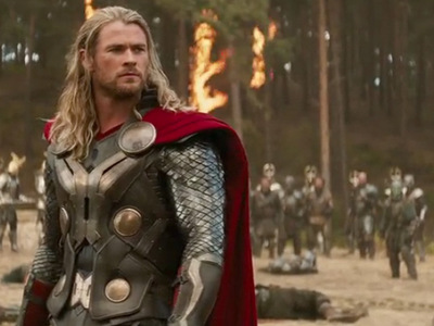 my fave Avenger is Thor(but only the movie version)