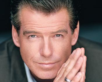 Bond...James Bond(aka Pierce Brosnan)