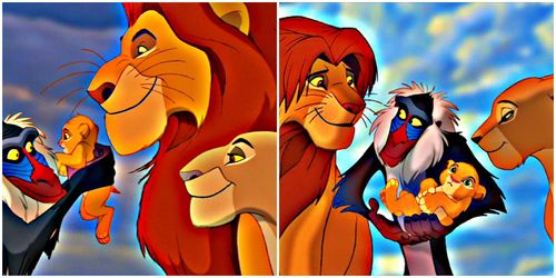 I'd choose ether Mufasa hoặc Simba as my king.