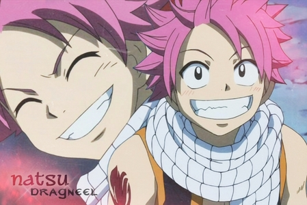 Natsu smile is the best EVER 1.....,2......,3....... GRIN SMILE