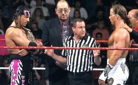 That's difficult, there are a lot of good moments, but if I had to choose, the greatest Wrestlemania moment would be Shawn Michaels winning the WWF championship from Bret Hart in the first ever Ironman Match at Wrestlemania 12. The very first one, and it goes to sudden death.