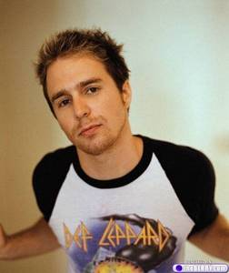 My celebrity crush, Sam Rockwell. He is 28 years older than me.