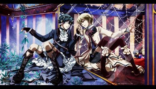 -pandora hearts -kuroshitsuji -katekyo hitman reborn -nabari no ou -karneval -zetsuen no tempest -D.Gray-Man -7 ghost -k project