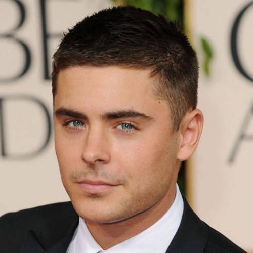 Zac with short hair<3