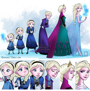 I was obsessed with Frozen,mostly with the character of Elsa.Right now La Reine des Neiges is still my movie obsession.