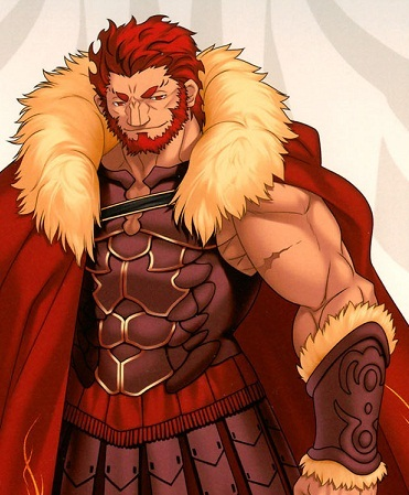 Rider from Fate/zero. Words can't express how awesome he was. Best servant ever.