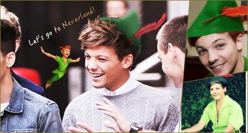 Lou as Peter Pan!