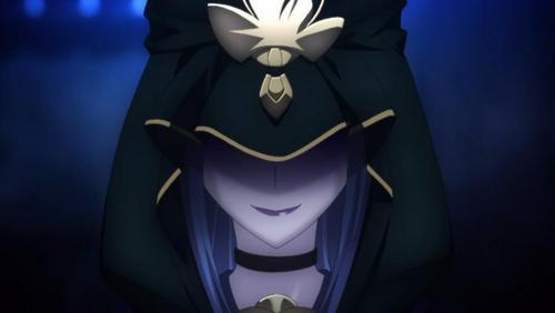my current icon. Caster of Fate stay night