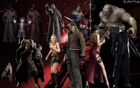 Resident evil 4... Coolest game of all time... But I can only find it on the wii and play station. Little tip Playing in the dark make আপনি jump out of your skin! >.<