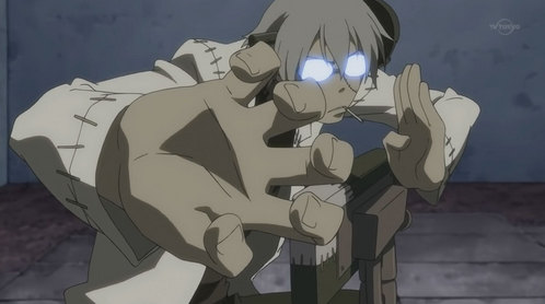 I recently just caught up with Soul Eater so I'll have to say Stein ^ ^