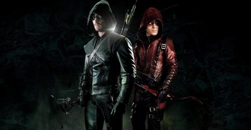 Stephen and Colton on Arrow<3