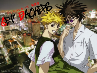 Getbackers its actually an incomplete anime........there were soooo many unsolved mysteries in this anime if they remake it ...it will be soooooo Epic...........eh he he pag-ibig Ban and Ginji............. Jagan Master Ban.& Lightning Emperor Ginji Amano..........he he heh