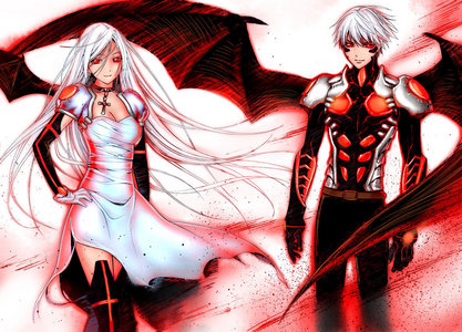 Rosario+Vampire While the anime is watchable, the Manga is over 9000 times better!