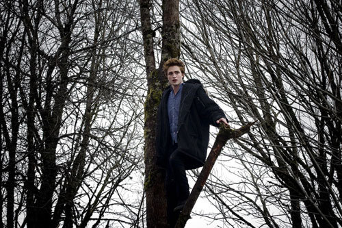 my babe standing in the trees<3