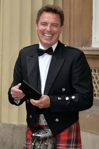 John with his MBE <3